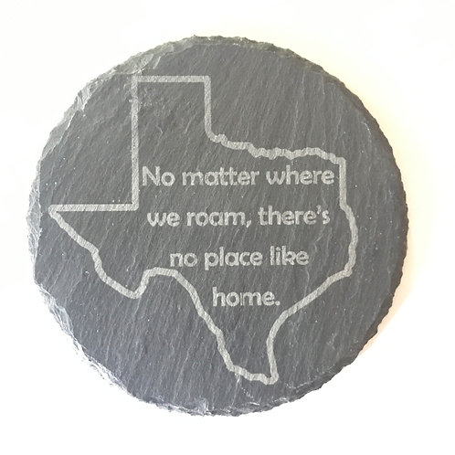 Texas Quote Slate Coaster