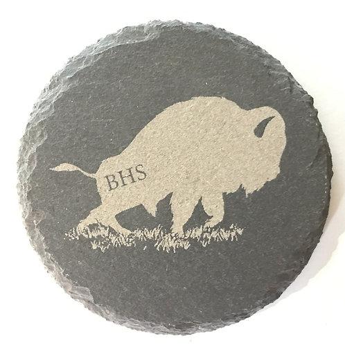 Buffalo High School Slate Coaster