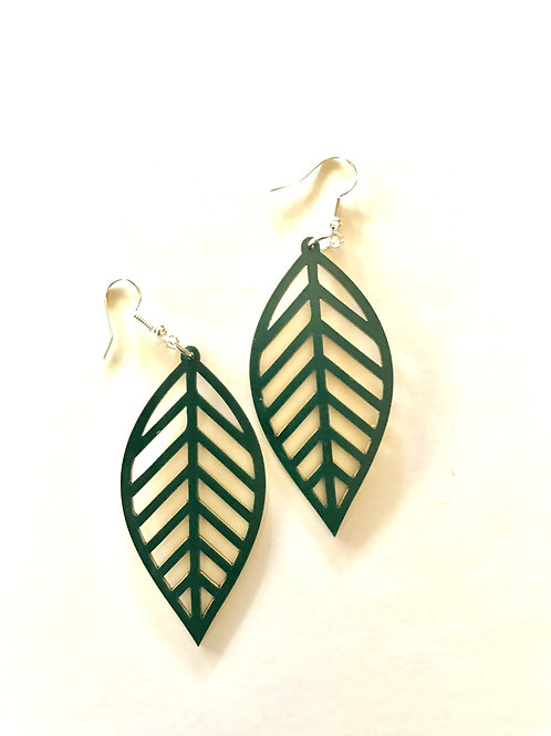Reversible Leaf Earring