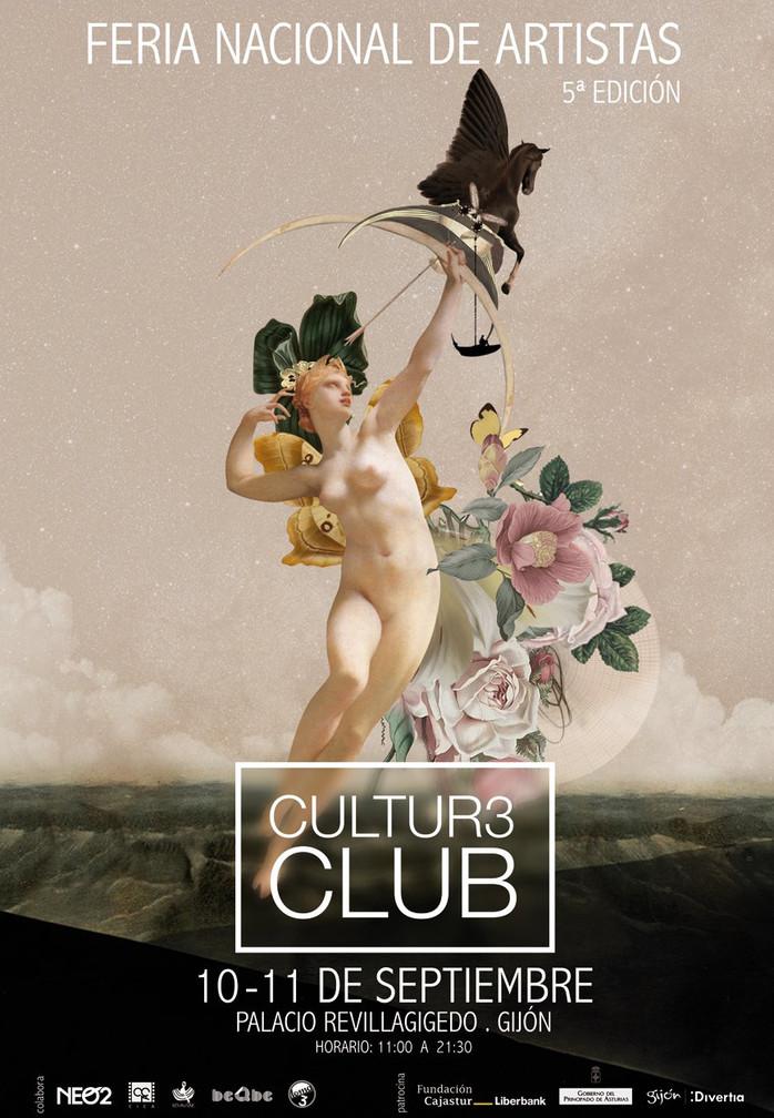 Arte, música, emoción: Vuelve Cultur3 Club. La Feria de Artistas celebrará su 5ª edición los días 10