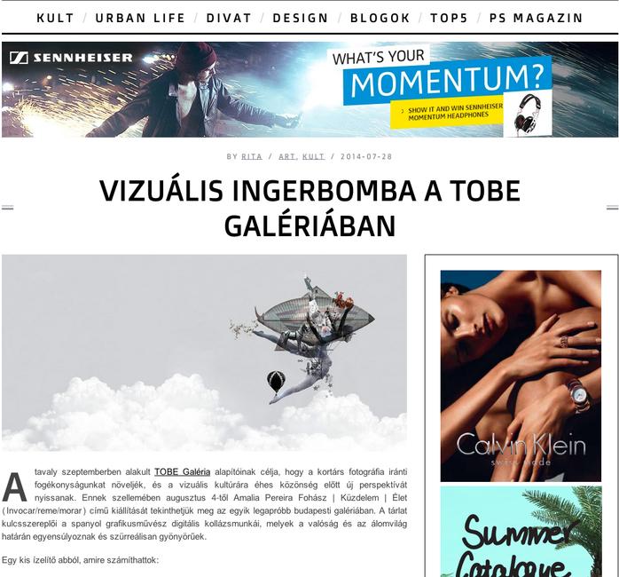VIZUÁLIS INGERBOMBA A TOBE GALÉRIÁBAN / Una bomba de estímulos visuales