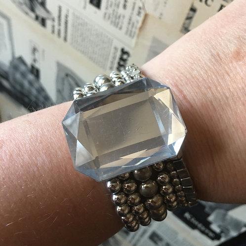 Multistrand bracelet - silver