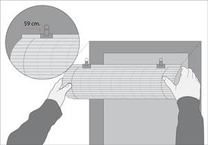 ¿Cómo instalar una cortina enrollable?