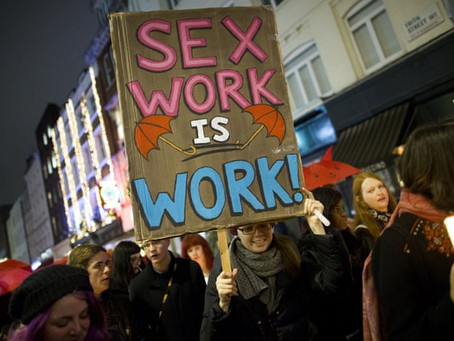 Sex Worker, Not Prostitute