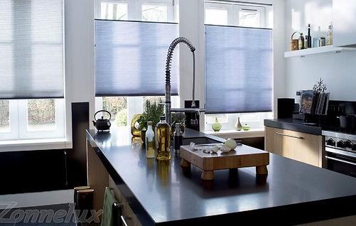 Dina raamdecoratie plissés