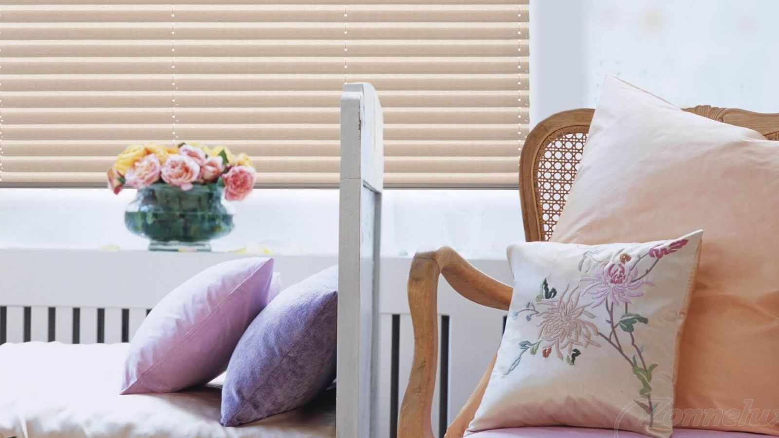plisse-slaapkamer
