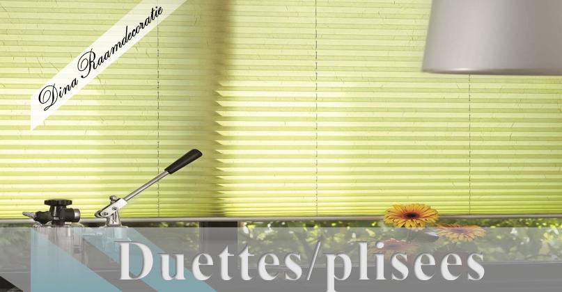 duettes/plisees