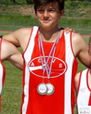 Superbe prestation de Kentin en triathlon MiH !