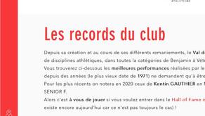 Les records du VSA