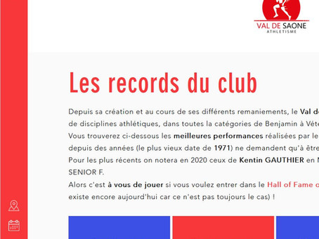 Les records du VSA