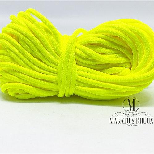 Fio Encerado Amarelo Fluorescente