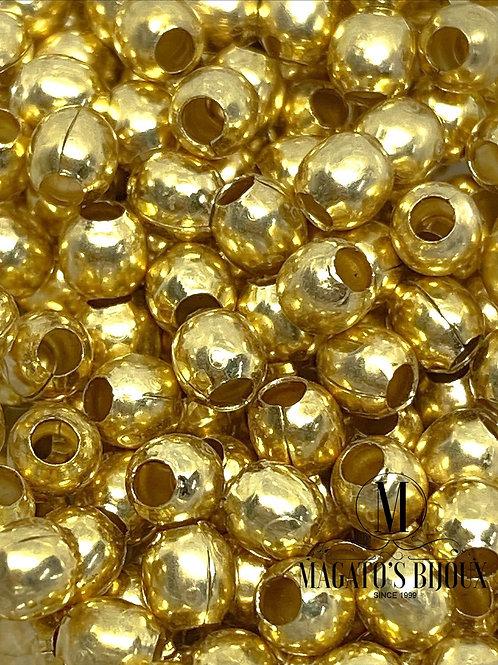 Bolinha de Latão Dourada N 4.5