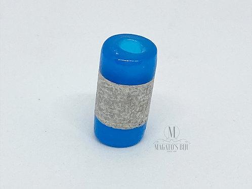 Firma Azul c/ Detalhe Prateado M