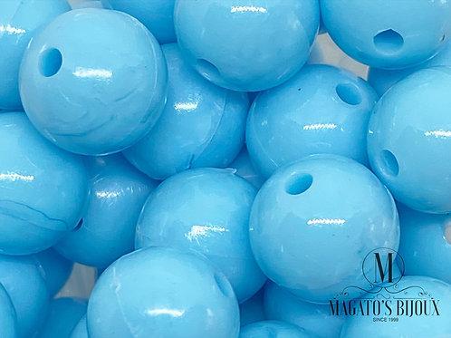 Bolinhas de Plástico Azul Bebê N 10
