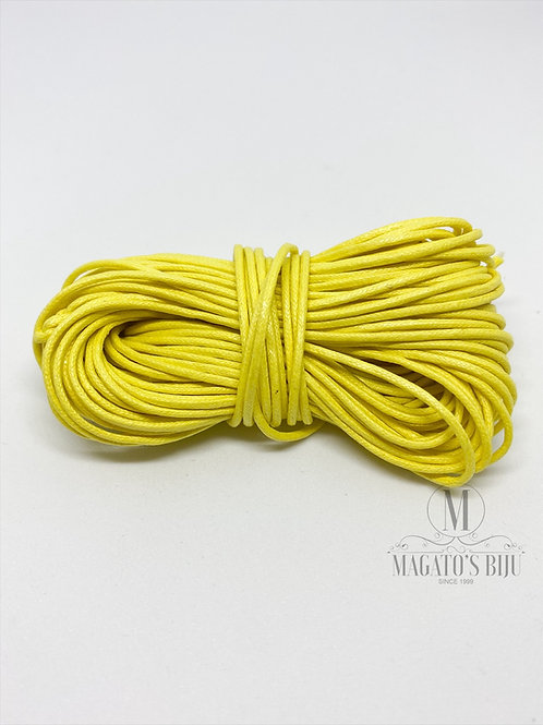 Fio Encerado Amarelo (Fino)