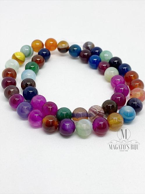 Ágata Multicolor Nº08