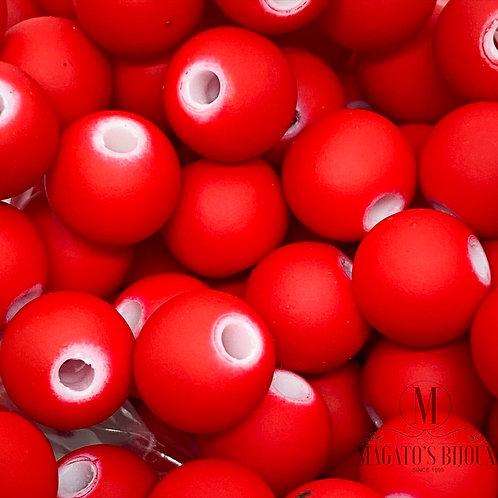 Bolinha Emborrachada Vermelha Nº 10