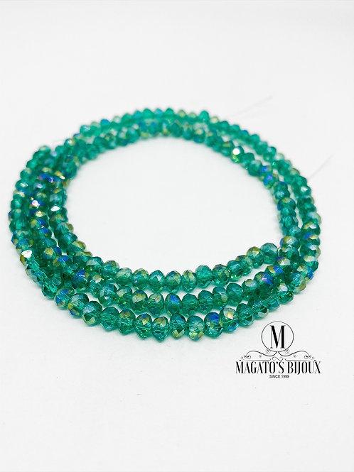 Fio de Cristal Verde 02 N° 04