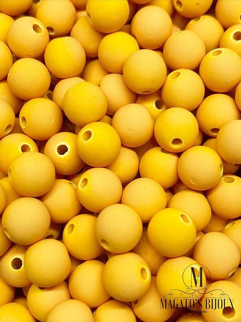 Bolinha Emborrachada Amarela N° 08