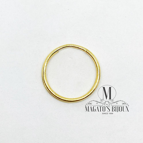 Argola P/ Chaveiro - Dourada 2.5cm