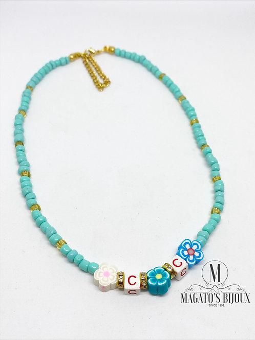 Choker Azul Tiffany