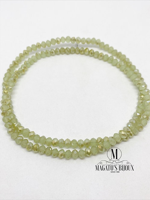 Fio de Cristal Verde Boreal N 04