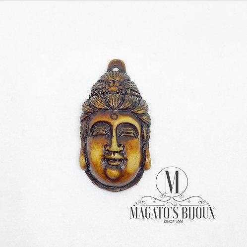 Pingente Buda de Resina