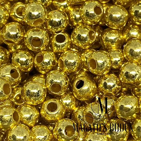 Bolinha de ABS Dourada N 06