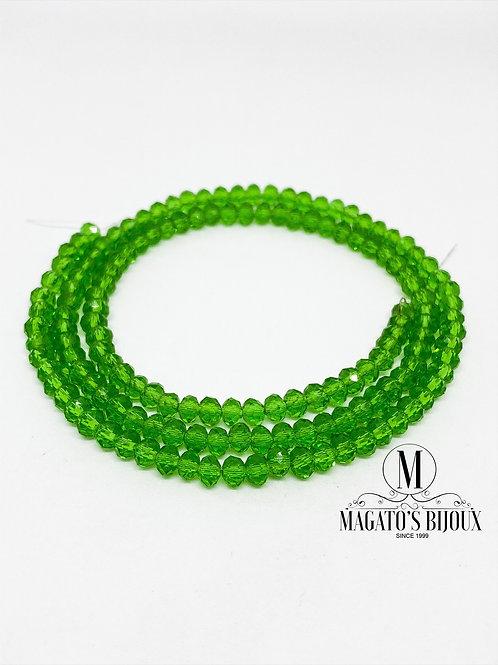 Fio de Cristal Verde 04 N° 04