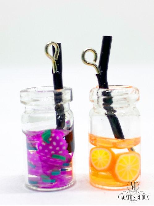 Pingente Drinks (Uva e Laranja)