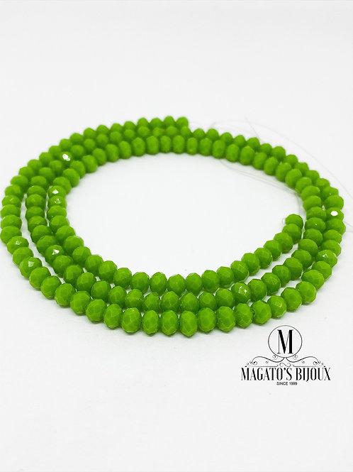 Fio de Cristal Verde 06 N° 04