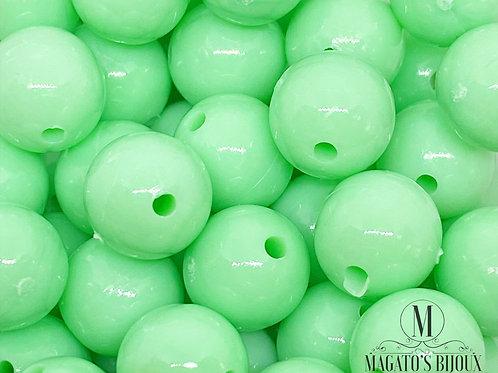 Bolinhas de Plástico Verde Candy Color N08