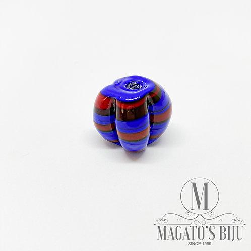 Pitanga (G) -  Mesclada Azul Royal e Vermelho