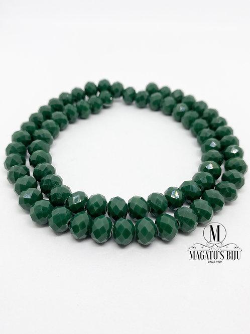 Fio de Cristal Nº08 Verde 002