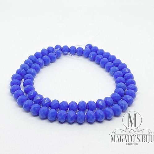 Fio de Cristal Nº08 Azul Royal