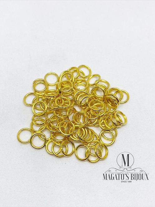 Argolinha Dourada Ferro N 05