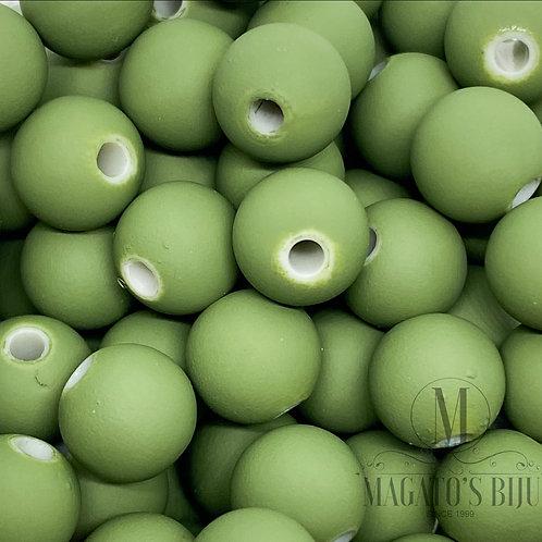 Bolinha Emborrachada Verde Nº 10