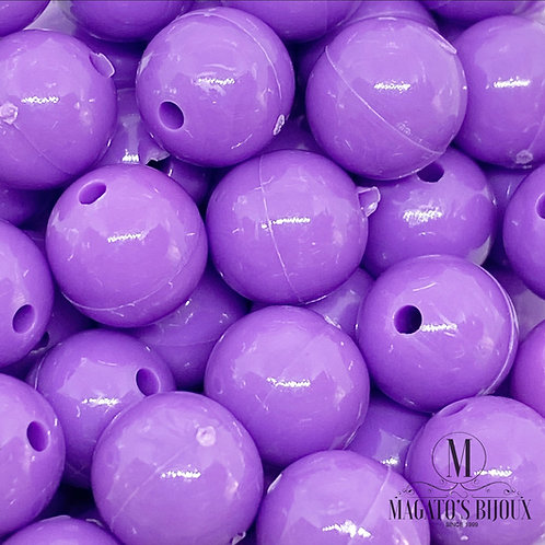 Bolinhas de Plástico Roxa N 08