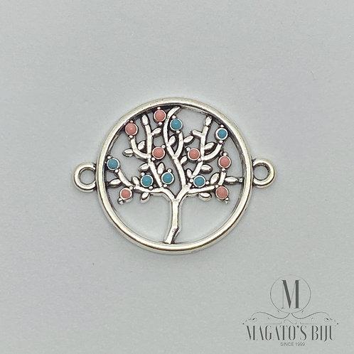 Entremeio Árvore da Vida (2 Elos, Colorido)