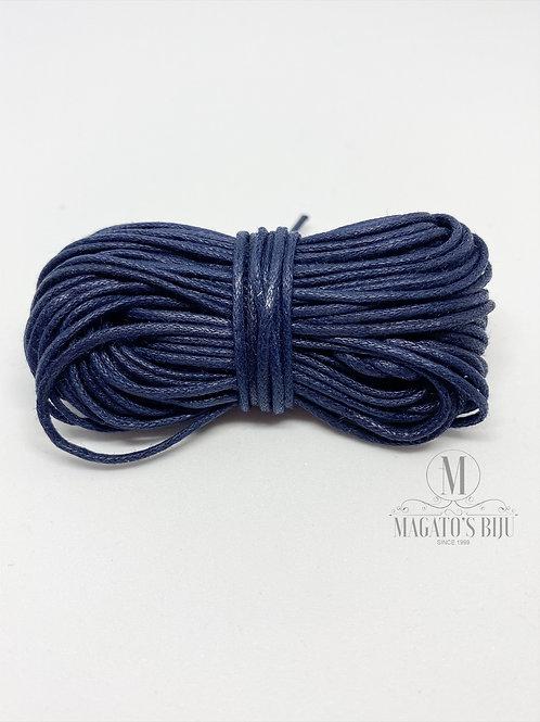 Fio Encerado Azul Marinho (Fino)