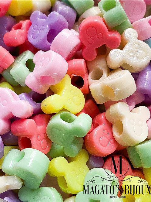 Contas Candy Color Ratinho (ATACADO)