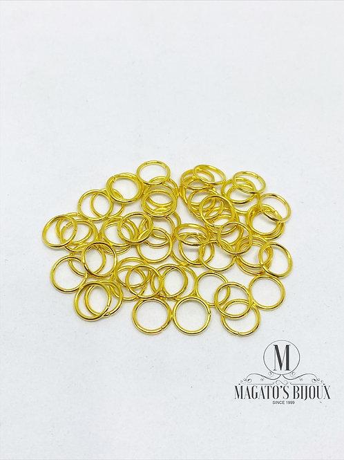 Argolinha Dourada Ferro N 04
