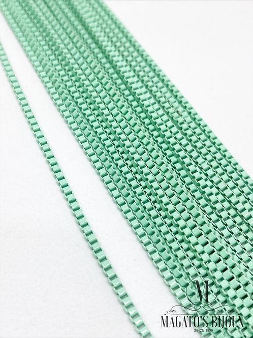 Corrente Veneziana Verde Água 02mm