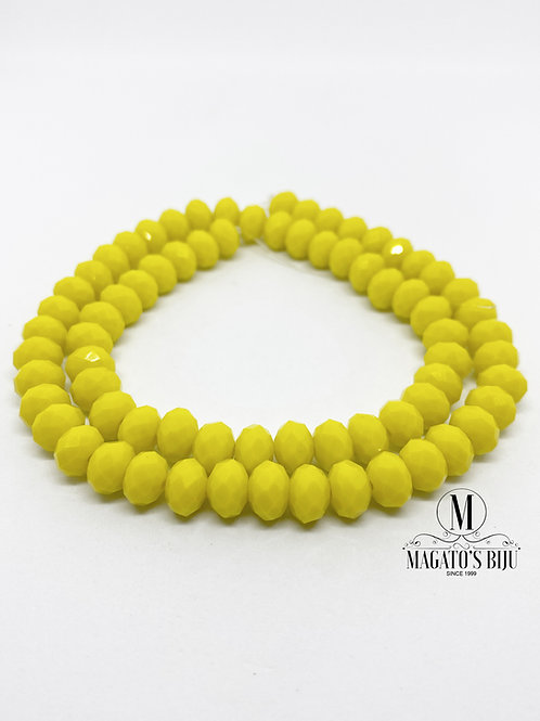 Fio de Cristal Nº08 Amarelo 001
