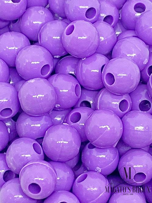 Bolinhas de Plástico Roxa N 06
