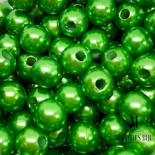 Pérola Verde Metálico 02 ABS N°6