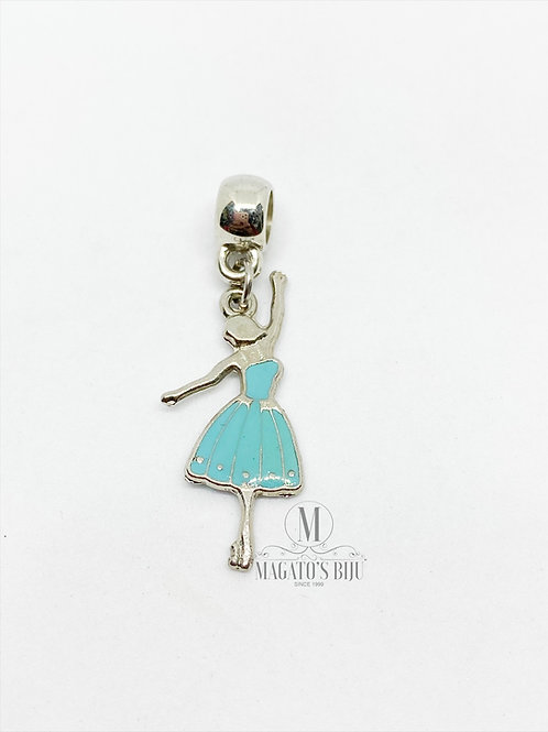 Berloque Bailarina Azul