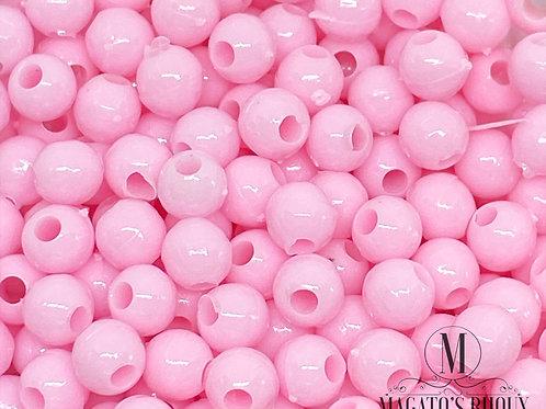 Bolinhas de Plástico Rosa Bebê N 04