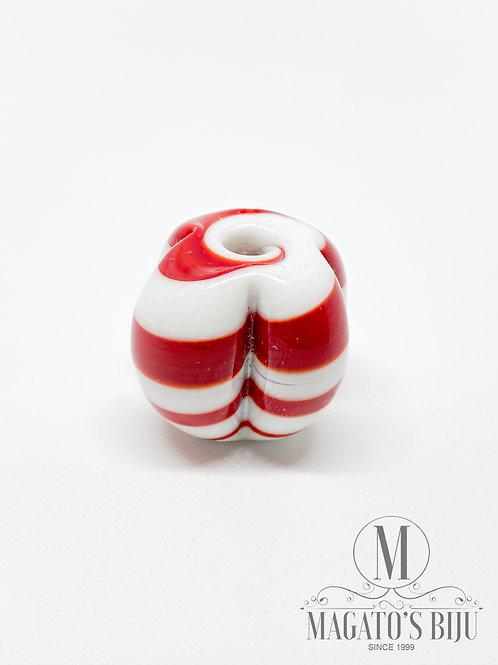 Pitanga Mesclada Vermelha e Branca Leitosa