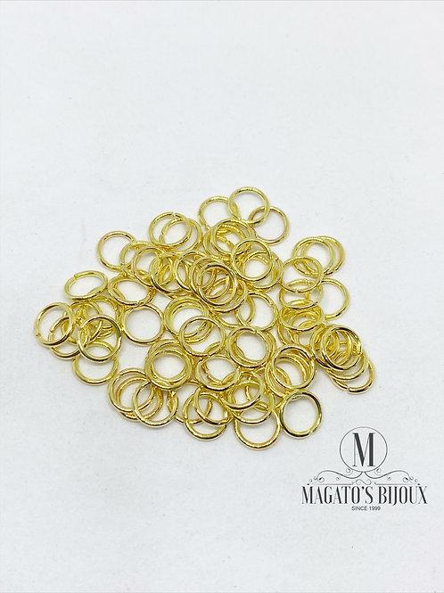Argolinha Dourada Ferro N 06